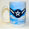 AIR FORCE  E-2 MUG